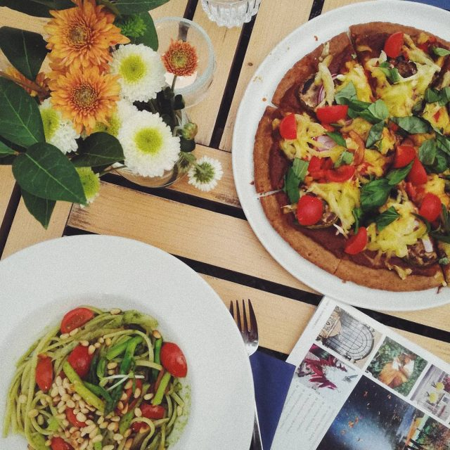 Rainy Saturdays are made for vegan kitchen and side projectshellip